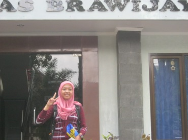 Wilda at Universitas Brawijaya.